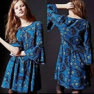 For Love and Lemons | Bell Sleeve Babydoll Dress